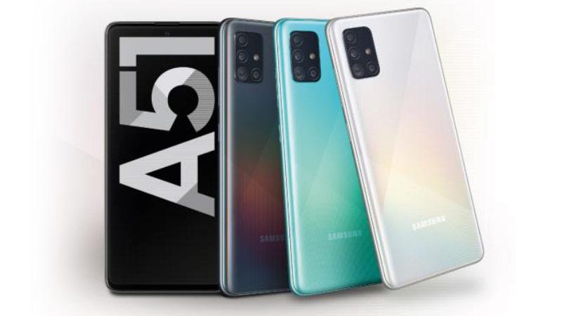Samsung Galaxy A51 Farben